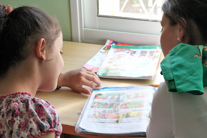 Talitha Kumi Girls' Boarding School in Palestine near Bethlehem