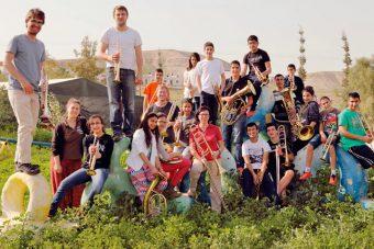 Brass for Peace Workshop in Palästina