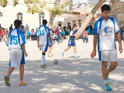 Fußballturnier der Schulen