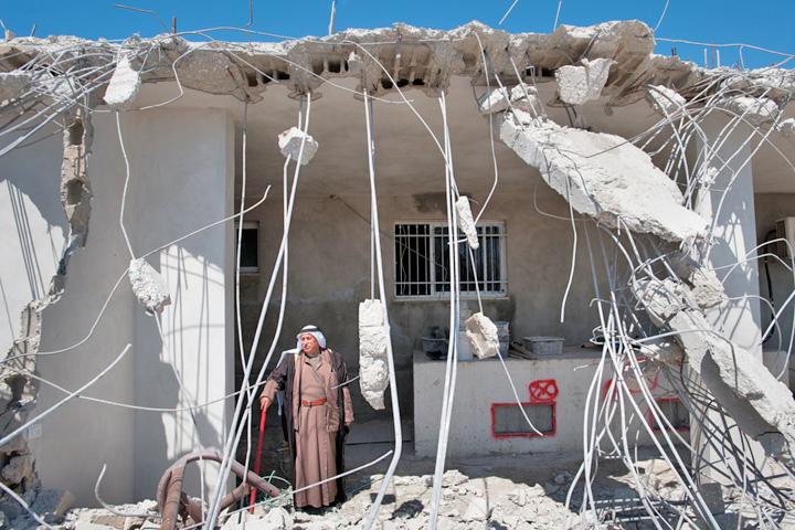 Symbolfoto: Hauszerstörung in Al Tur/Ostjerusalem (Ryan Rodrick Beiler / Shutterstock.com)