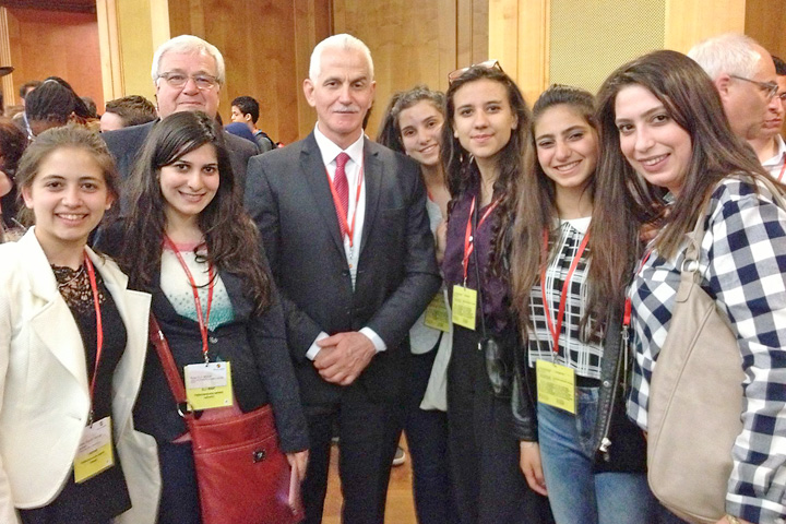 """Gäste aus Palästina bei """"Menschen bewegen"""" 2016"""