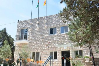 Talitha Kumi Guesthouse in Palestine near Bethlehem