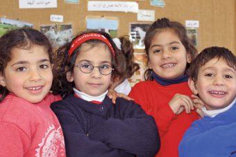 Talitha Kumi Kindergarten in Palestine near Bethlehem