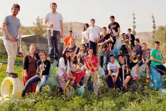 Brass for Peace Workshop in Palästina