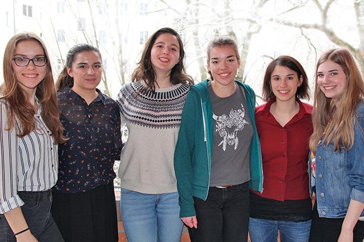 Deutsche Freiwillige in Talitha Kumi