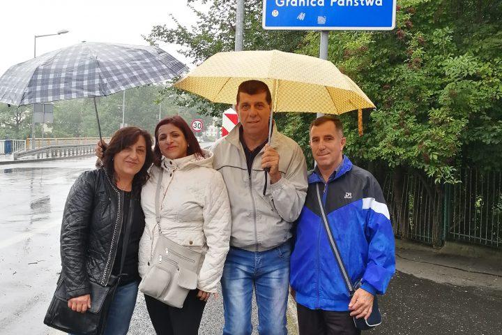 Lehrerinnen und Lehrer an der polnischen Grenze