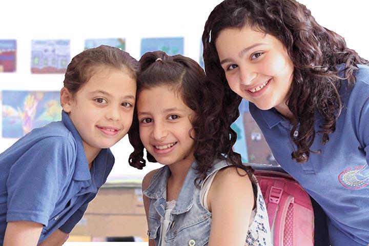 Schülerinnen aus Talitha Kumi