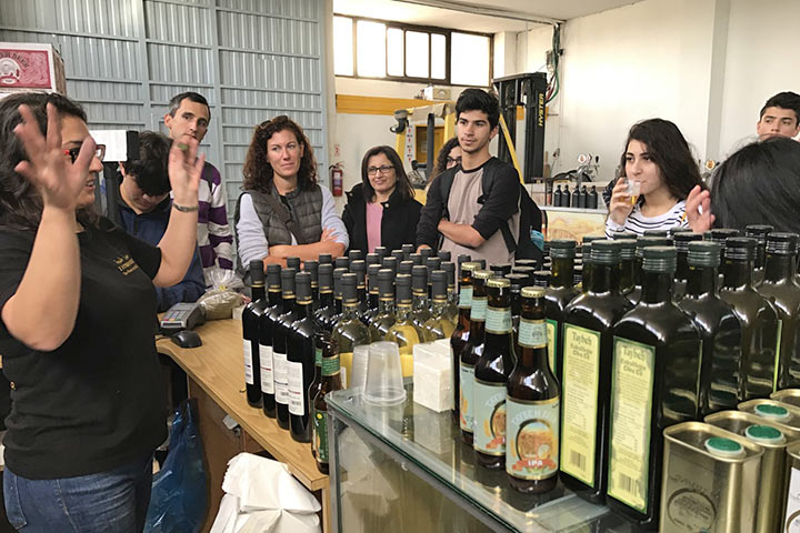 Exkursion nach Taybeh