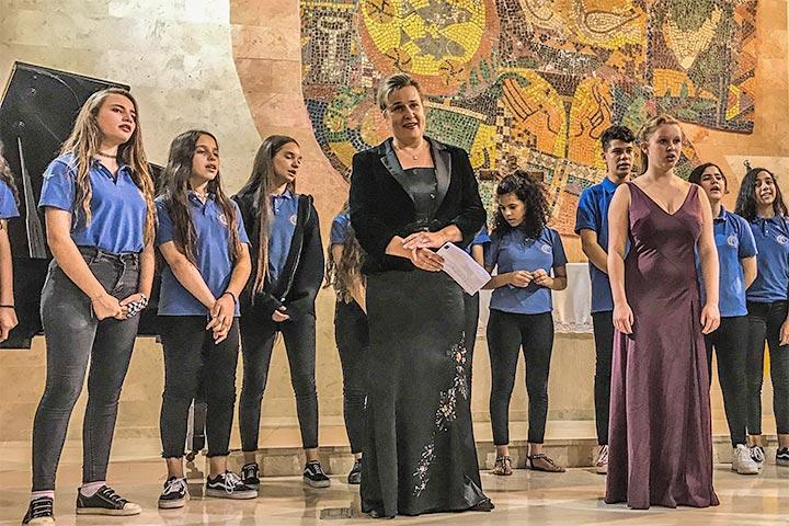 Konzert in Talitha Kumi mit Opernsängerin Friederike Meinel