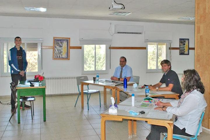 Deutsche Internationale Abiturprüfung 2021 in Talitha Kumi (Palästina)